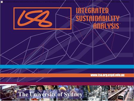 Www.isa.org.usyd.edu.au The University of Sydney AUSTRALIA.