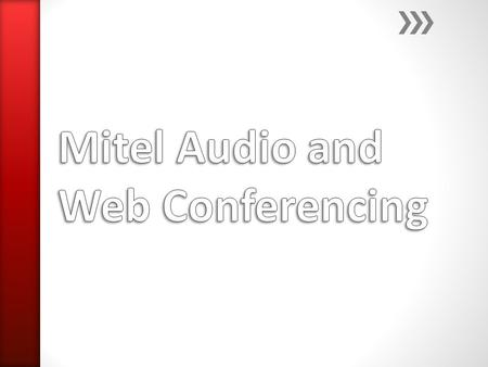The Mitel Audio and Web Conferencing (AWC) site is compatible with Windows. It is not compatible with Apple products. To access Mitel AWC, go to, https://nisdawc1.nisdtx.orghttps://nisdawc1.nisdtx.org.