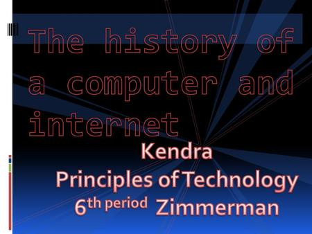 The first computer was invented in 1936. By Konrad Zuse. It was called the Z1. Unfortunately Zuse died in 1995.