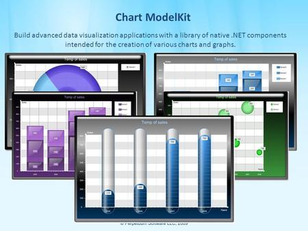 Chart ModelKit Build advanced data visualization applications with a library of native.NET components intended for the creation of various charts and graphs.