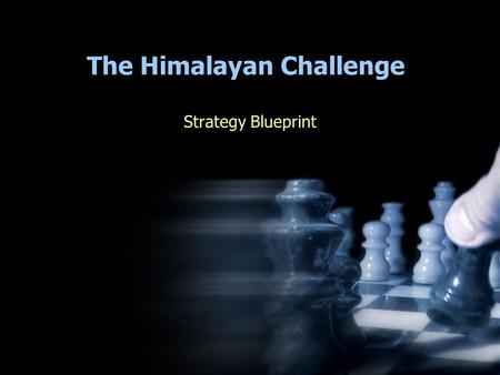 The Himalayan Challenge Strategy Blueprint. Confidential May 25, 2005Asha for Education © 2005 United Nations Millennium Development Goals 1.Eradicate.
