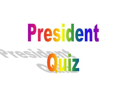 Question 1 Which famous D.C. landmark is pictures here? Supreme Court Building White House Capital.
