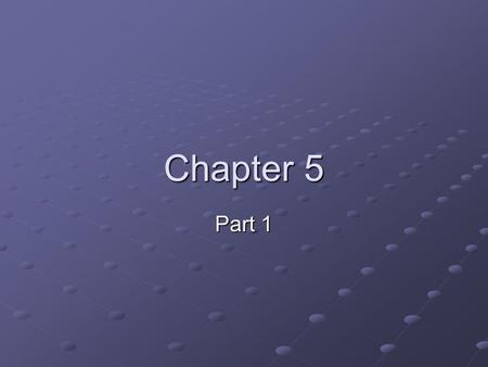 Chapter 5 Part 1. Course Goals 1.Application Skills (lab) 2.Computer-ese (terms) 3.How computers work (hardware) 4.History of Computing (ch. 5)