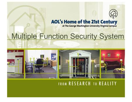 Multiple Function Security System. INTRODUCTION & APPLICATION ● 4 functions in on system: – Light Detector – Contact Detector – Motion Detector – Pressure.