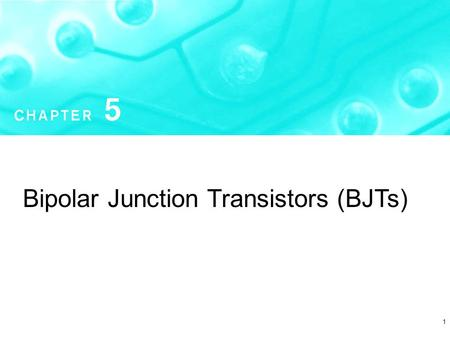 1 Bipolar Junction Transistors (BJTs). Copyright  2004 by Oxford University Press, Inc. Microelectronic Circuits - Fifth Edition Sedra/Smith2 Introduction.