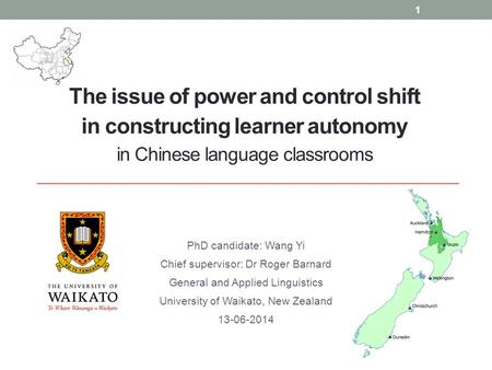 LEARNER AUTONOMY IN LANGUAGE LEARNING:
