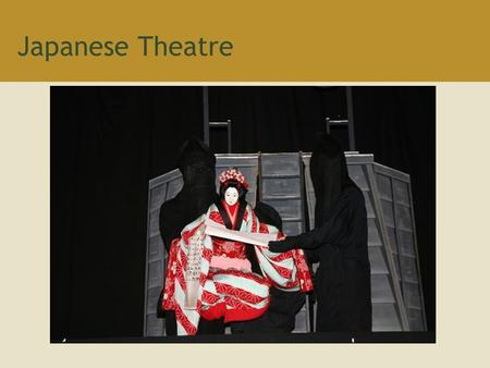 Japanese Theatre. Origins of Japanese Theater Early theater was based on Shinto ritual celebrations known as kagura dating as far back as the third.