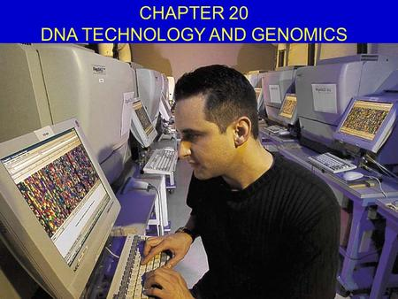 CHAPTER 20 DNA TECHNOLOGY AND GENOMICS. Overview of How Bacterial Plasmids Are Used to Clone Genes.