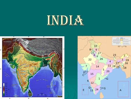 India. Words to Know   Ganges River   Arranged Marriages   Subsistence Farming   Caste System   Monsoons   Federal Republic   Independence.