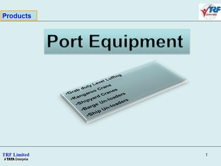 Port Equipment Products Grab duty Level Luffing Kangaroo Crane