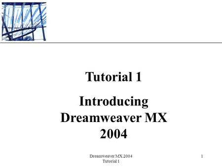 Introducing Dreamweaver MX 2004