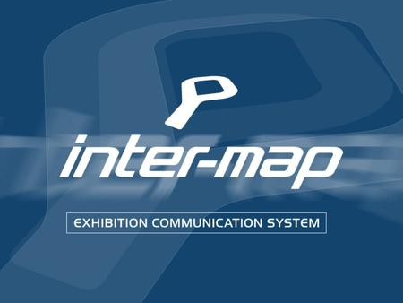 User-friendly, interactive exhibition communication system enabling visitors: - To browse the exhibition map/plan online to see who and what is where.
