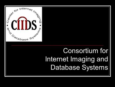 Consortium for Internet Imaging and Database Systems.
