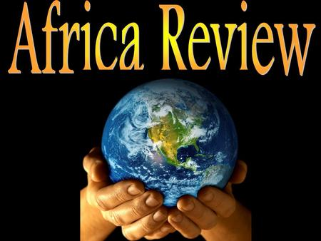 500 100 200 300 100 300 200 300 200 100 200 500 300 100 400 Wild Card Geography of Africa Five Themes HistoryStatistics 200.