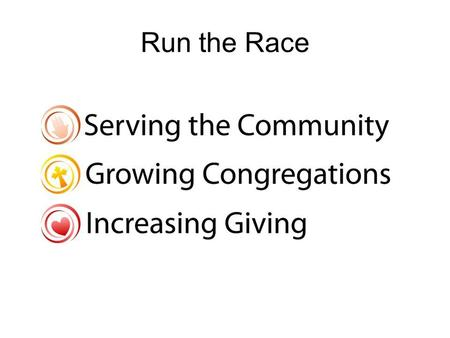 Run the Race. Spiritual journey 40 Parishes 50 schools 3,500 children.