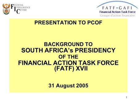 financial action task force