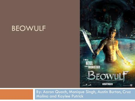 beowulf should not be viewed as a genuine hero in the epic poem beowulf Point of view and the oral tradition in beowulf beowulf was originally a poem passed on through oral tradition the oral tradition of the epic poem beowulf began around the eighth century the first manuscript of beowulf was written in old english and survived a fire in the scholar sir robert cotton's home the point of view from which the beowulf manuscript can be depicted is as a god-like.