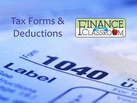 Tax Forms & Deductions. Net Income vs. Gross Income Gross income is the total amount a worker is paid before any required or voluntary deductions are.