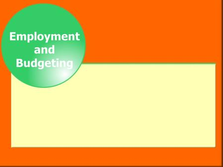 Employment and Budgeting. Salary and Fringe Benefits  There are two basic types of job pay.  A wage is an hourly payment of a fixed amount, such as.