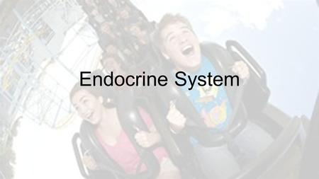 Endocrine System. The Endocrine System is a series of specialized cells and glands that secrete HORMONES. HORMONES are substances the regulate the activity.