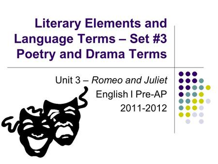 Foil literary term romeo and juliet