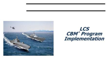 CBM + Program Implementation