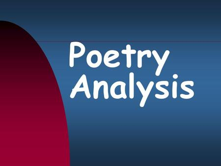 Poetry Analysis. The Poem: I Have Come to the Conclusion I have come to the conclusion she said That when we fall in love We really fall in love with.