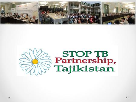 1. History of creation of STOP TB Partnership, Tajikistan Motivations: The need for joined efforts to fight TB; The voices and the needs of TB patients.