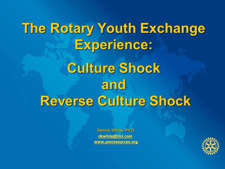a discussion of the experience of a culture shock Culture culture shock can affect people to different degrees, but there is a predictable sequence of stages that people undergo you enjoy the experience.