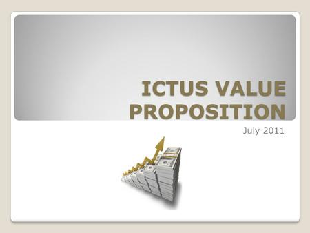 ICTUS VALUE PROPOSITION July 2011. Ignited Thrust toward Accelerated Growth ICTUS adds value by assisting our clients to make money. 2015/09/152.