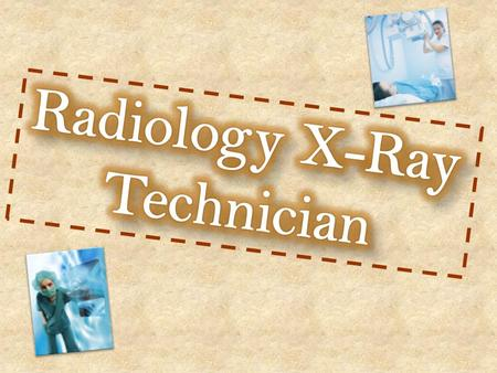Radiology is the examination of the inner structure of the body using x-rays or other penetrating radiation A Radiology x-ray technician uses penetrating.