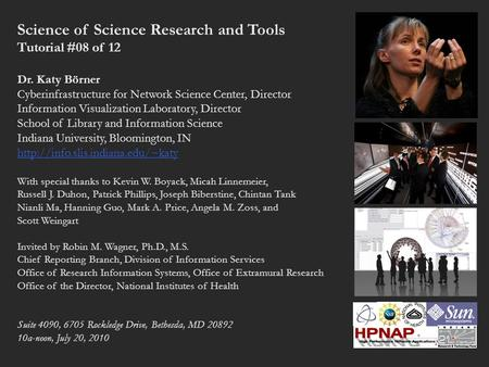 Science of Science Research and Tools