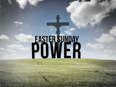 "The POWER of HOPE Mark 16:1–14(NIV) ""Jesus Has Risen"""