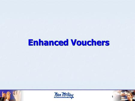 Enhanced Vouchers HCV Exec Mgmt 4/22/2017