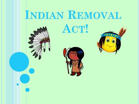 Indian Removal Act IRA (Indian Rem...