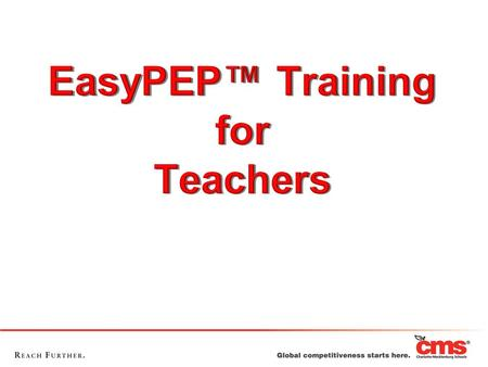 Agenda Access EDplan™ Login to EasyPEP™ Set Forgotten Password View Caseload View Student Profile Develop a PEP Resources.
