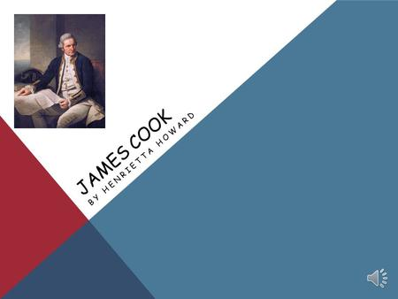 James Cook By Henrietta Howard.