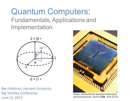 how to build a quantum computer
