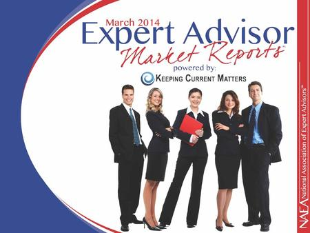 KCM Divided into Three Sections Be their 'Expert' This is a person to whom people will turn for advice on difficult or complex real estate decisions.
