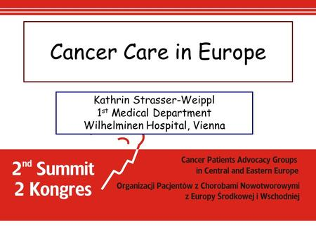 Kathrin Strasser-Weippl 1 st Medical Department Wilhelminen Hospital, Vienna Cancer Care in Europe.