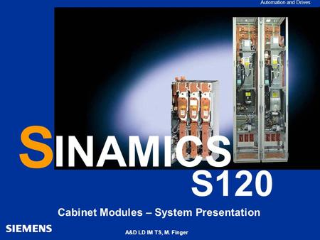 Cabinet Modules – System Presentation