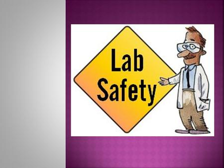 Why do you think lab safety is important?  Safety in the laboratory is extremely important in order to prevent serious accidents from happening to yourself.