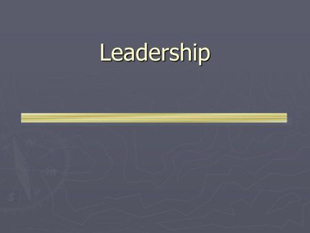 Leadership. Differences of Managers & Leaders Management  Systems & Processes  Goals & Measurements  Controlling  Directing  Reacting  Improvement.