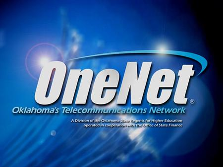 "What is OneNet? 1992 bond provided necessary capital for infrastructure – became operational in 1996 A ""True"" Public/Private Partnership One of the few,"