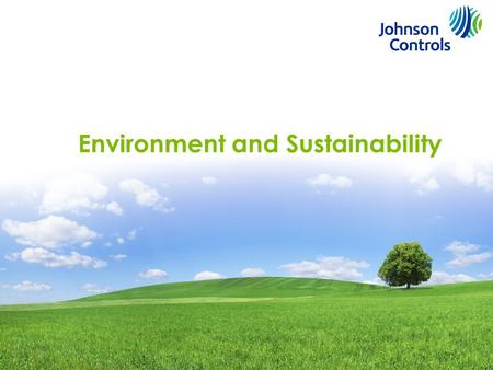 1 Environment and Sustainability. Is a Corporate Social Responsibility This is Not an Option 2.