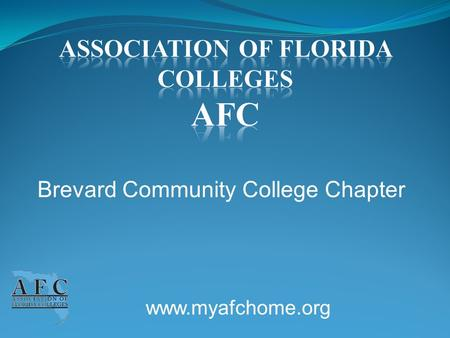 Www.myafchome.org Brevard Community College Chapter.