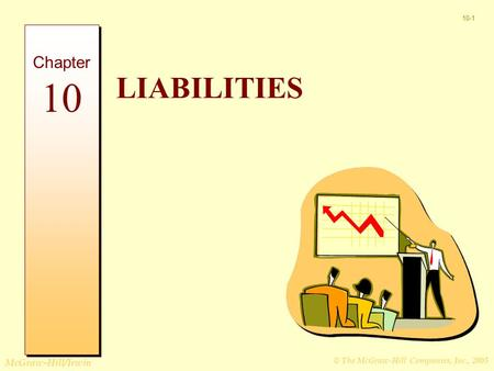 © The McGraw-Hill Companies, Inc., 2005 McGraw-Hill/Irwin 10-1 LIABILITIES Chapter 10.