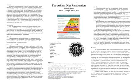 Are Fad Diets Healthy? Atkins Diet. What Is The Atkins ...