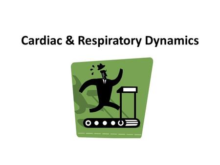 Cardiac & Respiratory Dynamics. Vascular System Carry blood away from heart Arteries  Arterioles  Capillaries Carry blood to heart Capillaries  Venules.