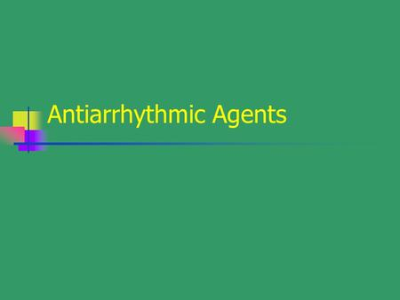 Antiarrhythmic Agents. BACKGROUND Inside cell: K + ; Outside cell: Na +, Ca + +, Cl - Action potential (AP) and Phase 0-4 phase0---reactivity---conduction---